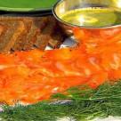 Гравлакс - рыбная закуска
